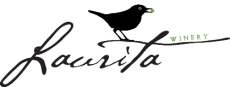 A logo for Laurita Winery in New Egypt, NJ.