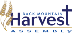 A logo for the Back Mountain Harvest Assembly.